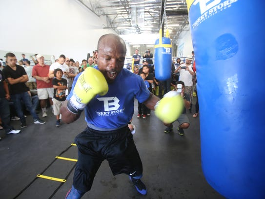 Former WBO Welterweight champion Timothy Bradley Jr.