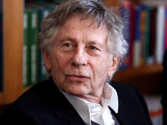 French-Polish film director Roman Polanski speaks at