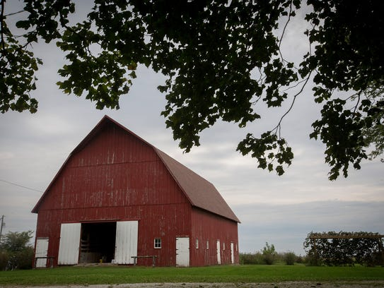 The Beeler barn, located at 2569 140th Street, Van