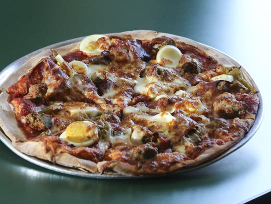 Try the Aunt Angie's Special at Paesano's Pizzeria