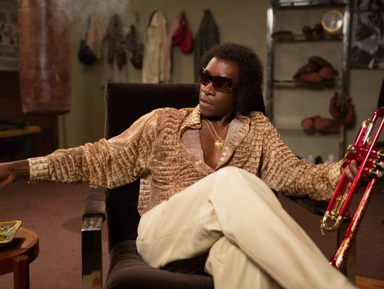 Don Cheadle as Miles Davis in 'Miles Ahead.'