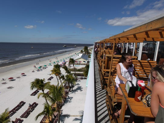 Waterfront dining views abound in Southwest Florida.