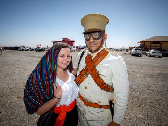 After traveling from Ontario, CA, Iryna Lopez and husband