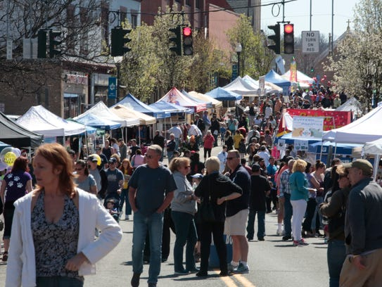 Don't let spring pass you by without stopping by one of the many street fairs and festivals in our area.
