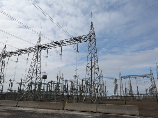 Transmission lines at the James A. Fitzpatrick Nuclear