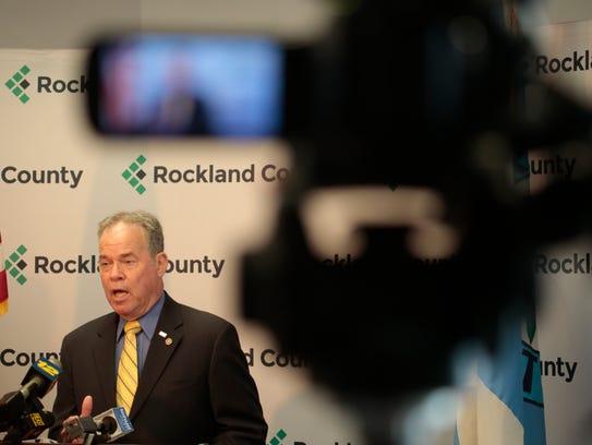 Rockland County Legislative Chairman Alden Wolfe has