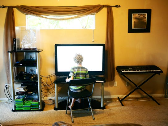 Nearly Blind Lehigh Acres Boy With Albinism Plays Piano