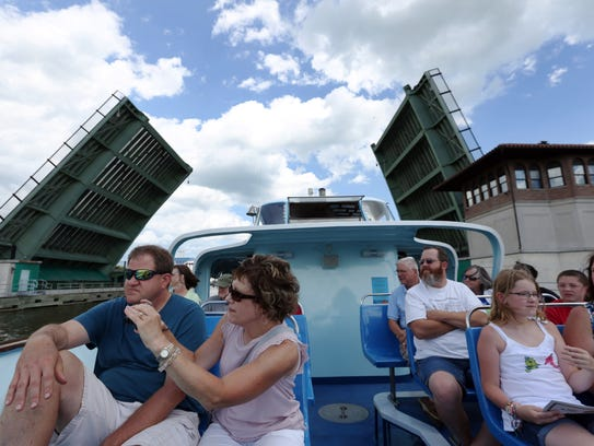 The Skyline Princess tour boat made its maiden voyage