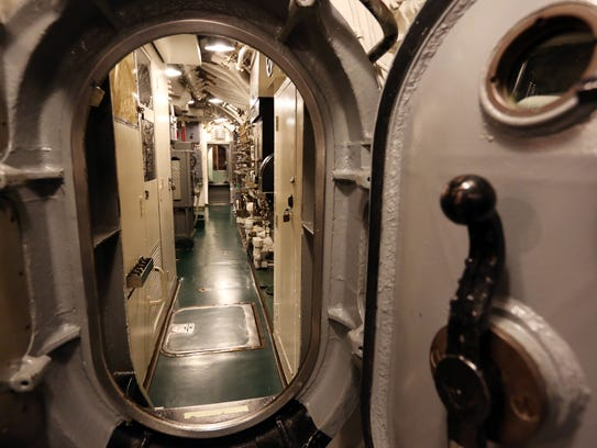 Inside of the USS Cobia.