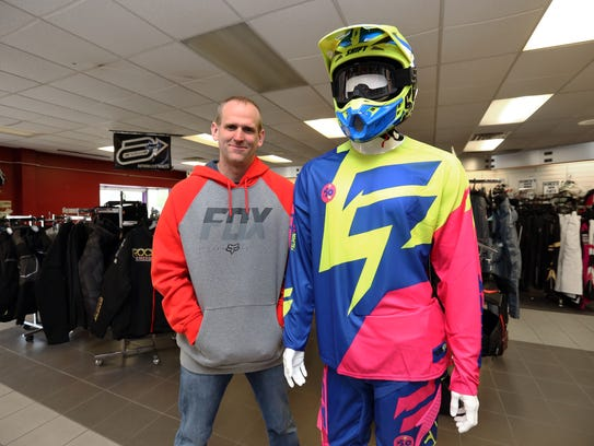 MxMegastore owner Dave Klein, 34, poses for a photo