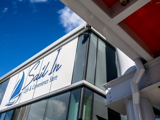 The Sail In Cafe, at the Blue Water Transit Bus Center