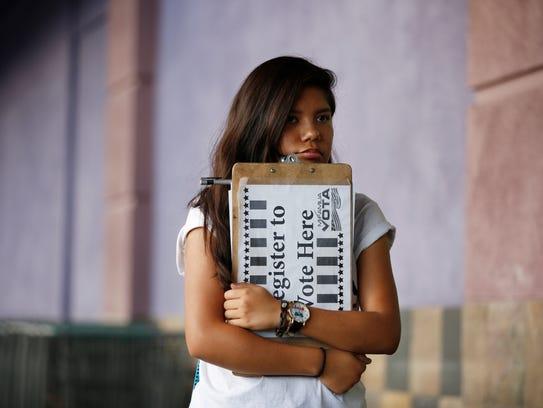 Miles de nuevos votantes latinos se han registrado