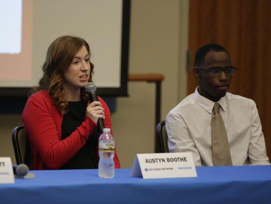 UW-Oshkosh student Austyn Boothe talks about her college