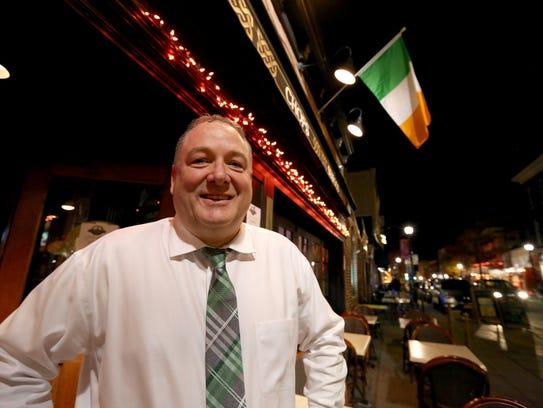 Kieran O'Gorman, manager of O'Malleys in Nyack, is
