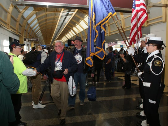 Twin Tiers Honor Flight Mission 5 was completed Nov.