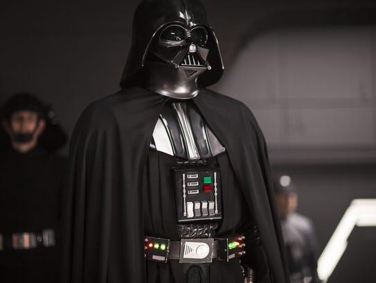 Darth Vader looms large again as a big-screen presence
