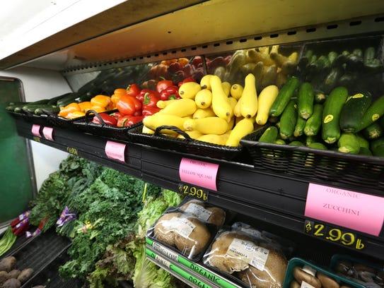 Produce at Sweetpea's Market in Nyack Jan. 24, 2017.