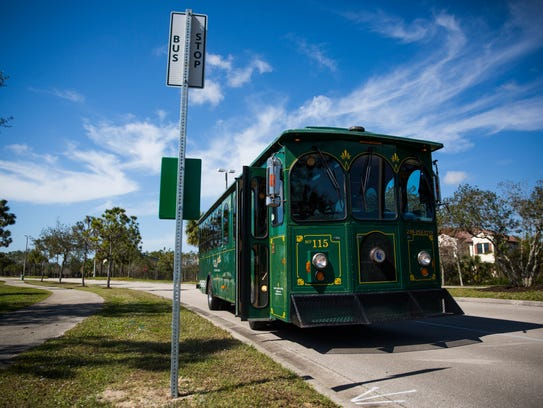 Collier County will try a free beach trolley this winter