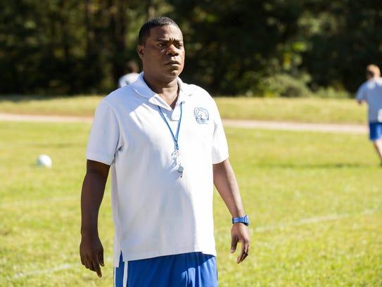 Tracy Morgan plays a high-school coach who helps prep