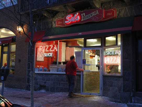 Sal's Pizzeria in Mamaroneck. The pizzeria, in business