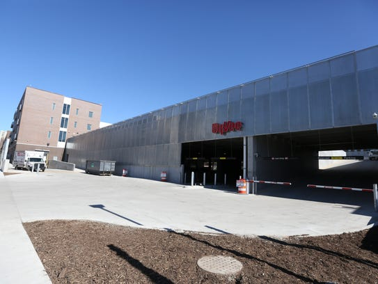 The new Fourth + Court Hy-Vee at 420 Court Ave. will