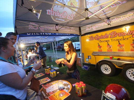 Rhythm, Wine and Brews event at the Empire Polo Grounds