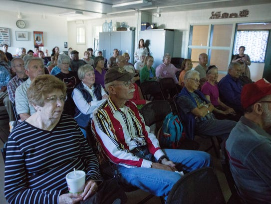 The Brown Bag Lecture at the Las Cruces Railroad Museum,