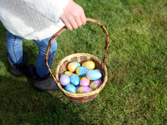 Take the family over to Calvary Baptist Church on Saturday, March 24, to hunt for thousands of candy-filled eggs.