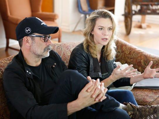 Actors Jeffrey Dean Morgan and Hilarie Burton are leading