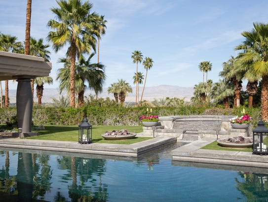 A luxury vacation rental in the Palm Springs area,