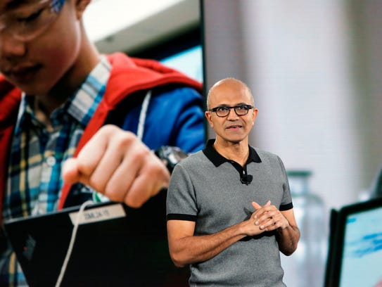 Microsoft CEO Satya Nadella discusses student empowerment