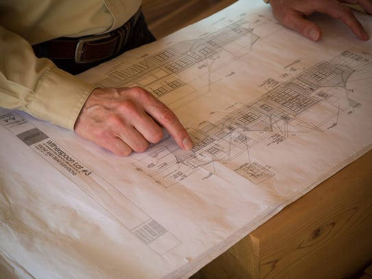 Castle Homes is building an English Country style home