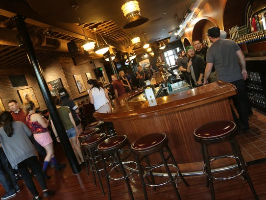 The main-floor bar at HopCat Royal Oak, which is has a craft-beer-inclined New Year's Eve party in the works.