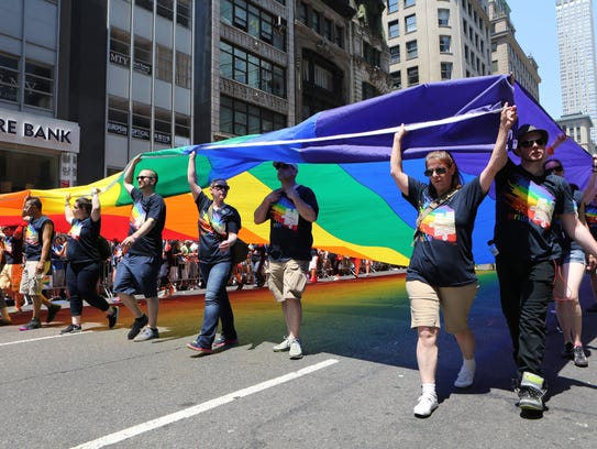 New York City held their Pride March 2016 along Fifth