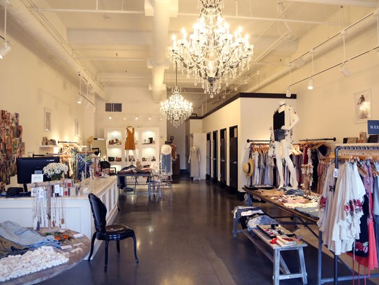 Interior of Fab'rik in the Hill Center Wednesday June