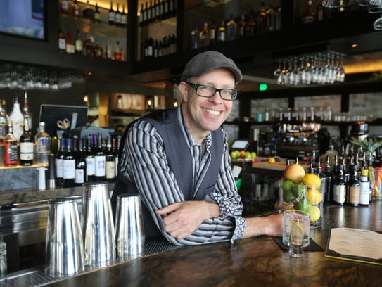 Adam Seger, corporate sommelier/executive bartender