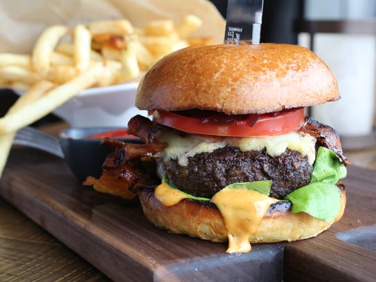 The Perch Cheeseburger at the City Perch Kitchen +