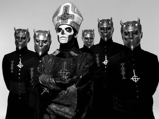 Ghost will perform for the second time in Corpus Christi