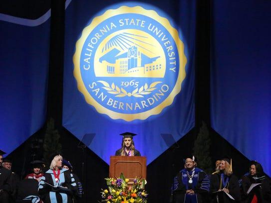 Graduates from Cal State San Bernardino Palm Desert