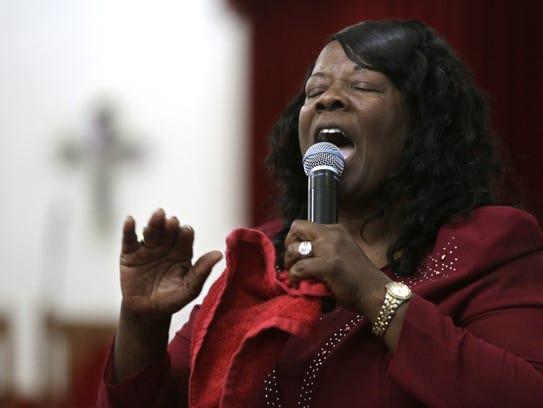 Pastor Wilhelmina Williams of The Body of Christ Jesus