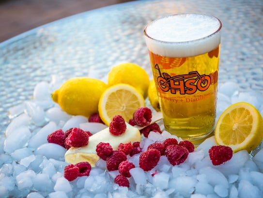 The Popcycle Blonde is a summer beer available at O.H.S.O.