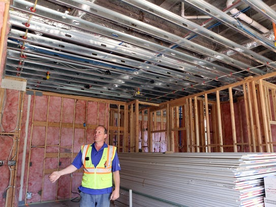 Project manager Robert Lodes talks about the apartments
