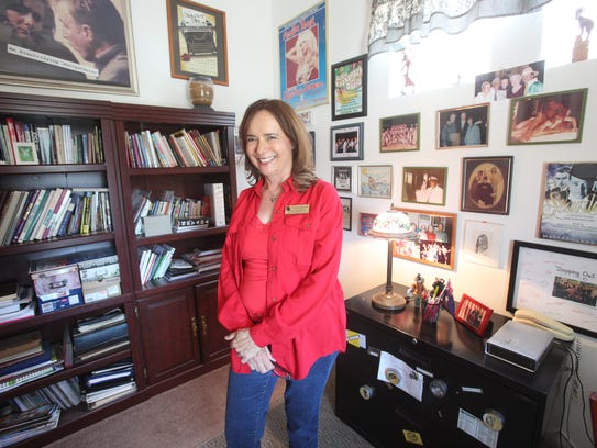 Jeanette Knight is photographed at her home.