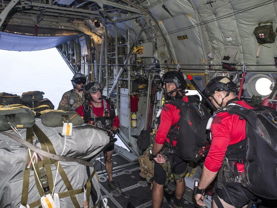 Airmen assigned to the 920th Rescue Wing prepare to