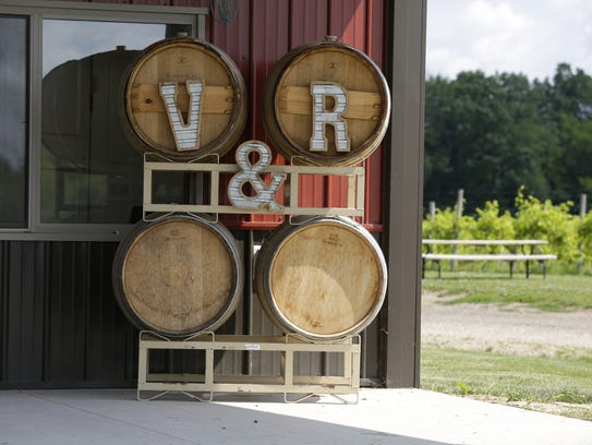 Vines & Rushes Winery, 410 County Highway E, is a growing