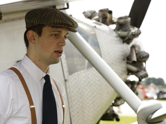 Aaron Busse is an actor portraying Charles Lindberg.