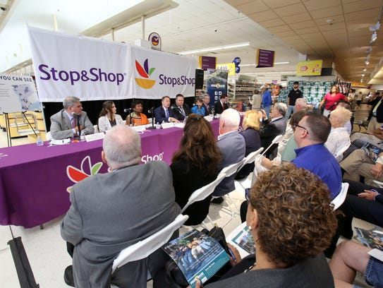 The Weschester Food Bank and Stop & Shop supermarket