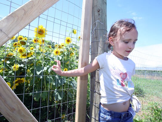 Athena Santini, 6, of West Nyack shares her likes about