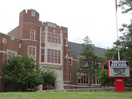 Roosevelt High School at 631 Tuckahoe Road in Yonkers.