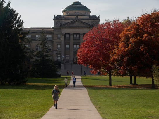 Iowa State University campus
